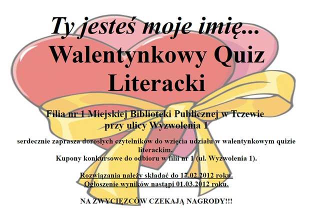 Quiz Literacki