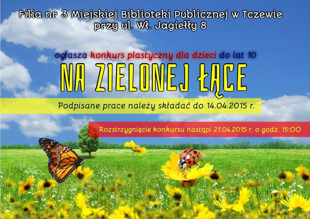 Konkurs plastyczny dla dzieci - Nazielonej łące