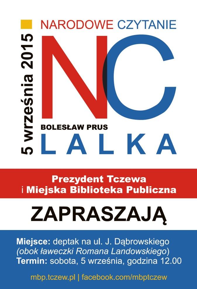 Narodowe Czytanie Lalki Bolesława Prusa