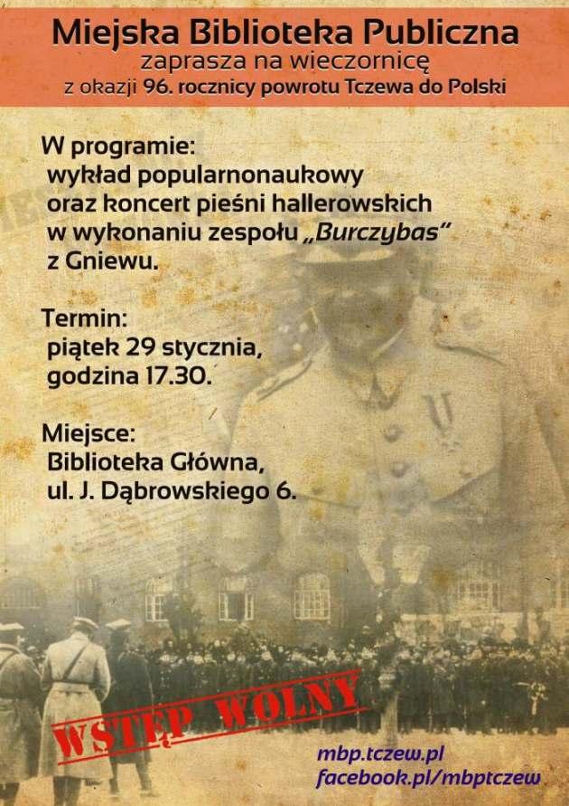 W 96. rocznicę powrotu Tczewa do Polski