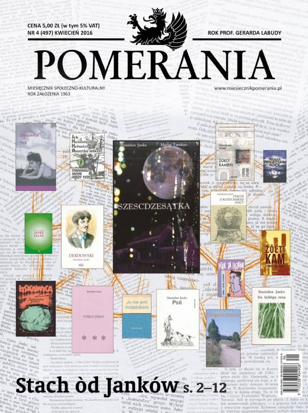 Okładka miesięcznika Pomerania