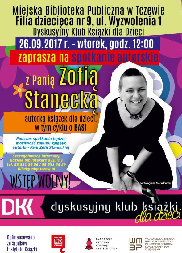 Spotkanie z Zofią Stanecką