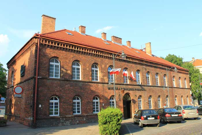 Budynek Główny Miejskiej Biblioteki Publicznej wTczewie, ul.Jarosława Dąbrowskiego 6