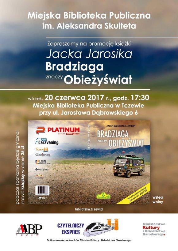 Jacek Jarosik - Bradziaga znaczy obieżyświat