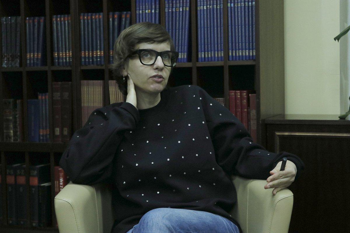 Magdalena Grzebałkowska była gościem Dyskusyjnego Klubu Książki