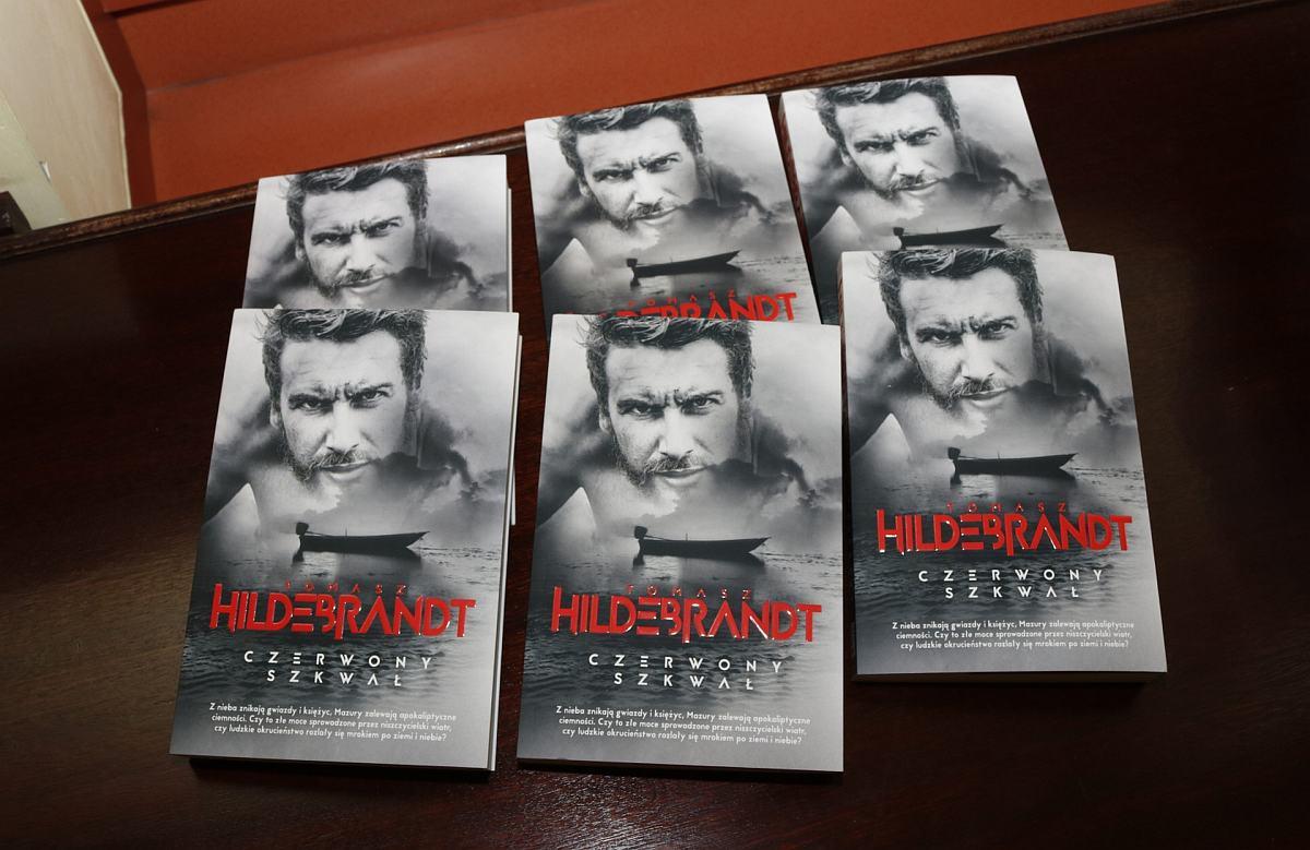 Promocja najnowszej książki Czerwony szkwał Tomasza Hildebrandta