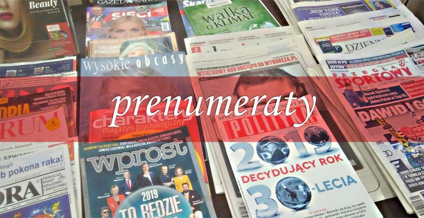 Prenumeraty czasopism