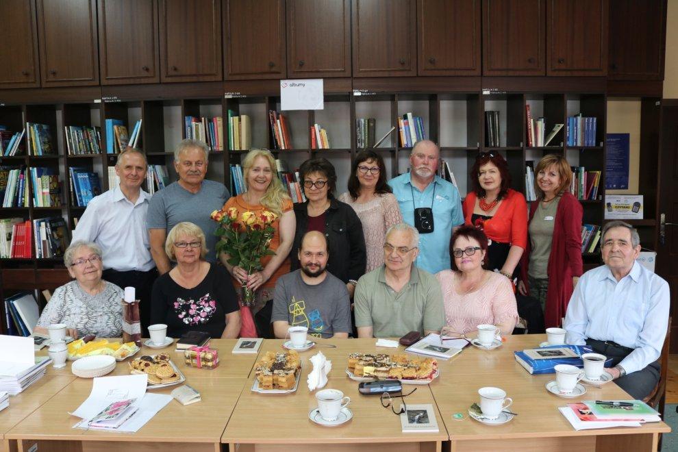 Majowe spotkanie literatów - 15 maja 2019 r.