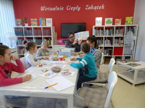 Wielkanocne spotkanie Dyskusyjnego Klubu Książki dla Dzieci