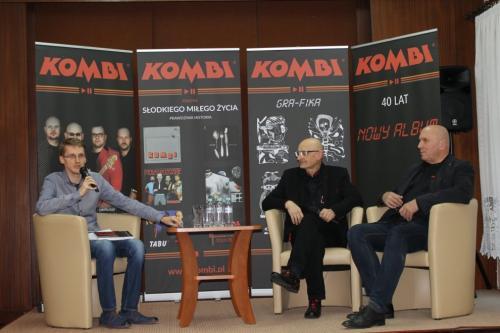 Promocja książki o zespole KOMBI