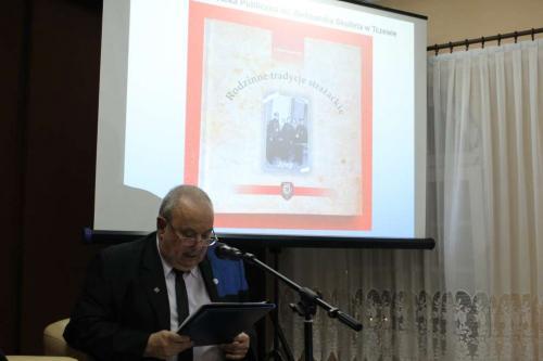 Rodzinne tradycje strażackie – promocja książki Adama Murawskiego