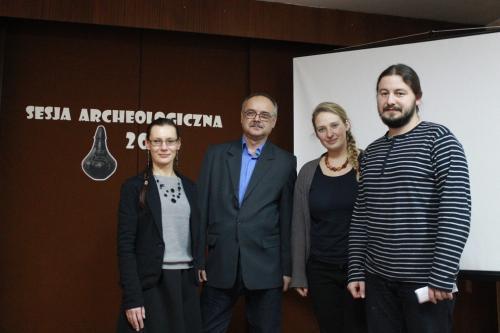 Sesja archeologiczna wtczewskiej bibliotece