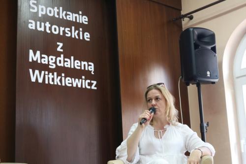 Spotkanie zMagdaleną Witkiewicz