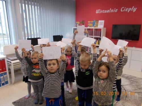 Ferie zimowe 2019 r Miejskiej Bibliotece Publicznej wTczewie
