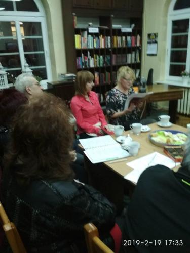 Spotkanie Koła Literatów