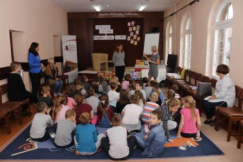 Spotkanie z Ewą Poklewską-Koziełło