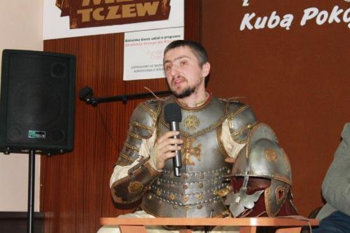 Słowem iszablą - czyli spotkanie zKubą Pokojskim