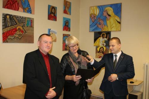 Wystawa malarstwa Grzegorza Pliszki