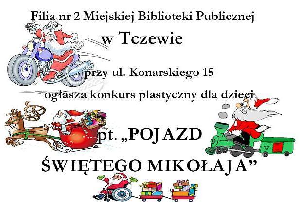 Konkurs - pojazd Św. Mikołaja