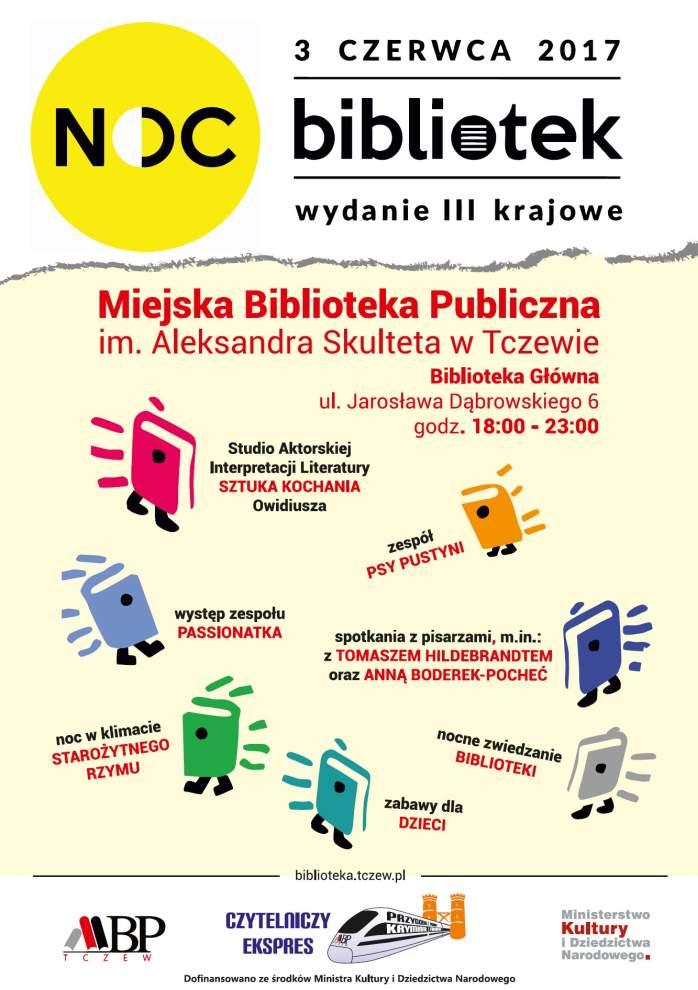 III Ogólnopolska Noc Bibliotek w Tczewie