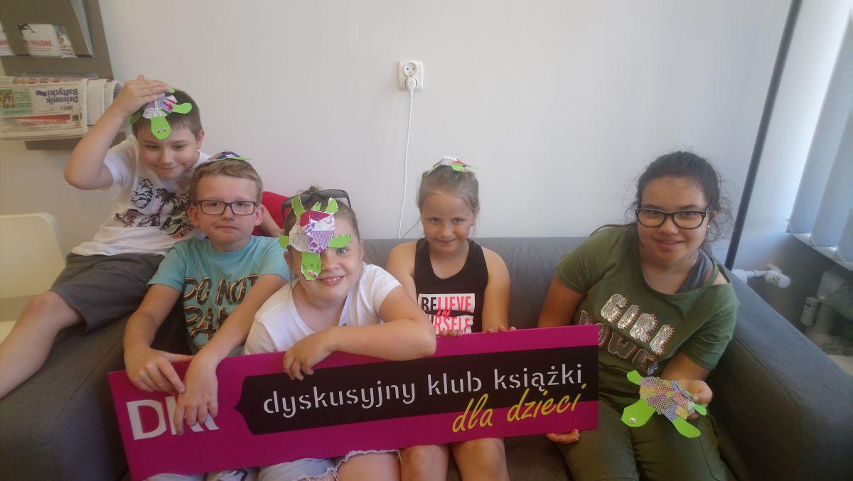 Ostatnie przedwakacjami spotkanie Dyskusyjnego Klubu Książki dla Dzieci - 04.06.2019 r.