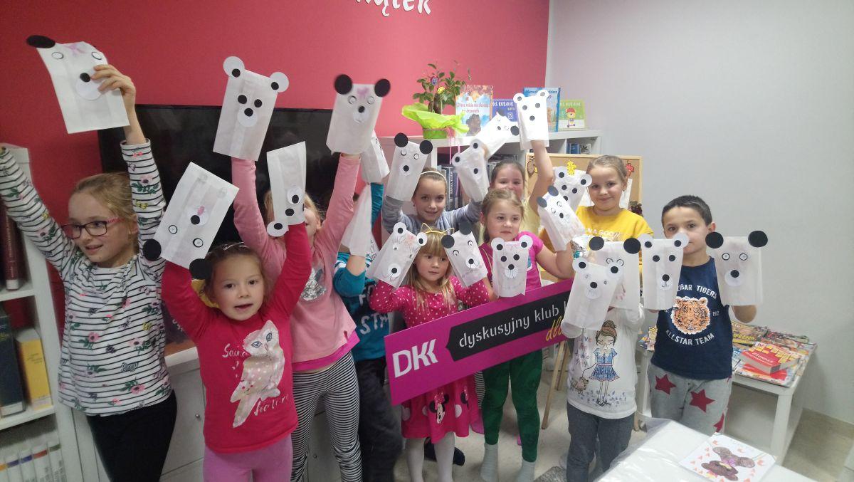 Dyskusyjny Klub Książki dla Dzieci - Światowy Dzień Pluszowego Misia
