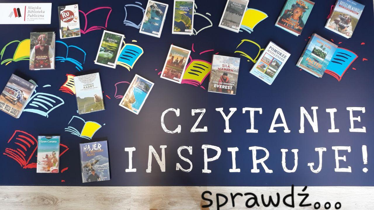 Czytanie inspiruje - sprawdź