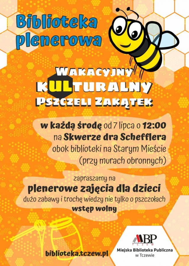Plakat Biblioteki Plenerowej