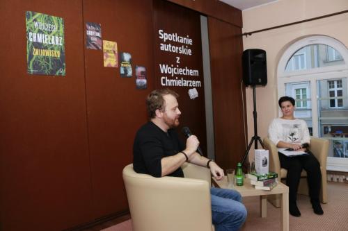 Spotkanie autorskie zWojciechem Chmielarzem