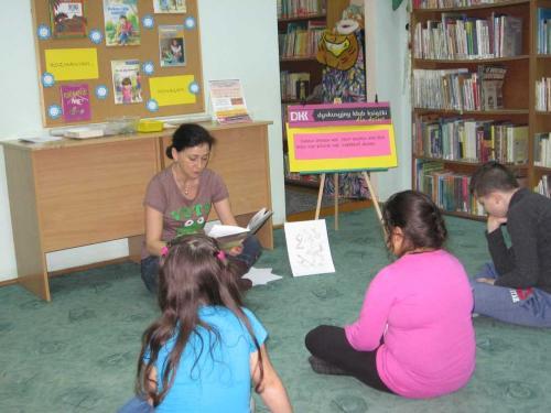 Kolory Ludzi – spotkanie Dyskusyjnego Klubu Książki dla Dzieci