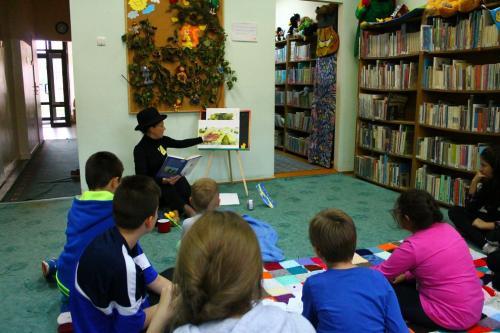 Pierwsze spotkanie Dyskusyjnego Klubu Książki dla Dzieci