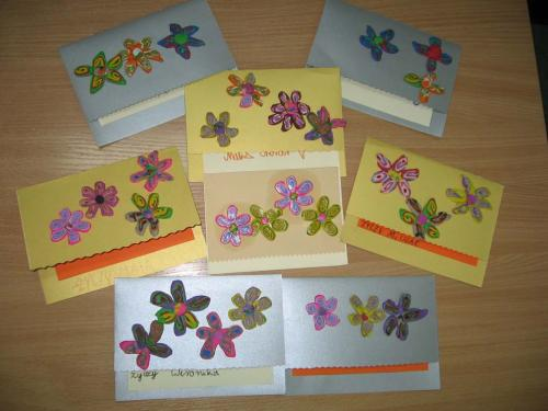 Laurki pełne kwiatków dla wszystkich Babć i Dziadków