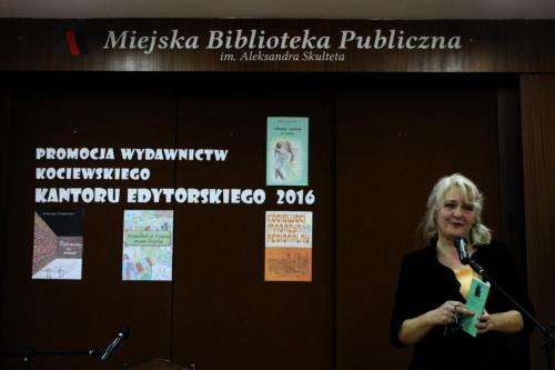 Promocja wydawnictw Kociewskiego Kantoru Edytorskiego