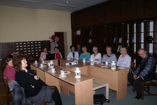 Spotkania zestudentami Tczewskiego Uniwersytetu Trzeciego Wieku