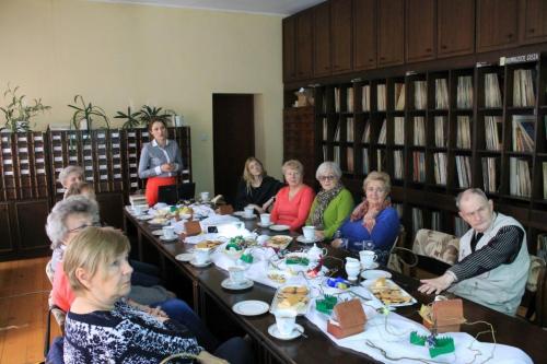 Spotkania ze studentami Tczewskiego Uniwersytetu Trzeciego Wieku