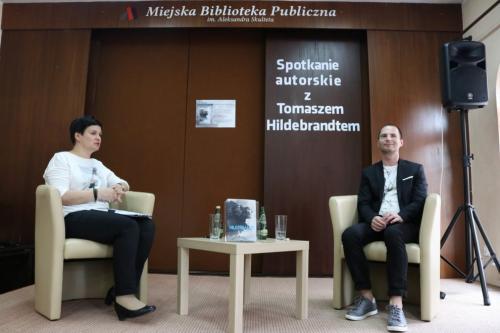 Promocja książki Tomasza Hildebrandta Wymiary Mroku
