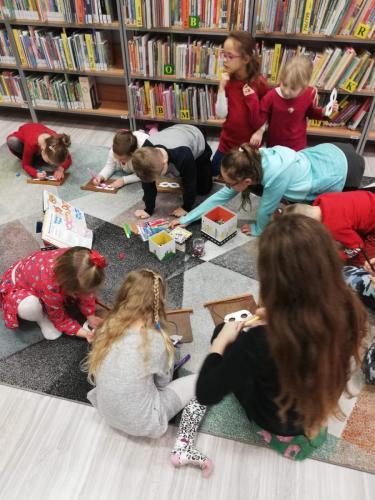 Ferie zimowe 2019 r Miejskiej Bibliotece Publicznej w Tczewie