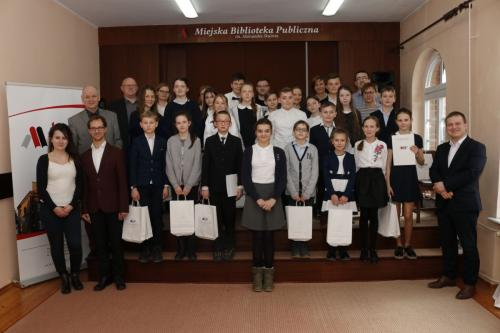 Konkurs historyczny wMiejskiej Bibliotece Publicznej wTczewie
