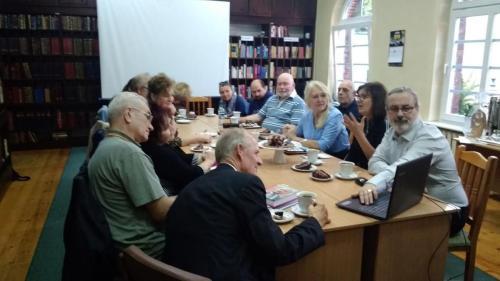 Spotkanie Koła Literatów - październik 2019