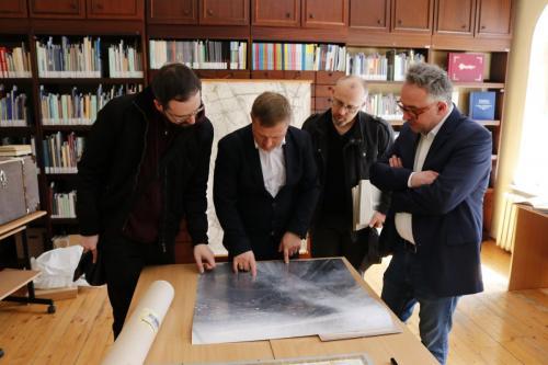 Przekazanie zbiorów z kolekcji Ireneusza Dunajskiego do Sekcji Historii Miasta