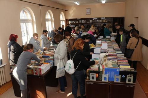 Wymienialnia książek - wiosna 2019