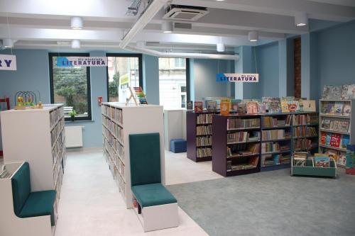 Otwarcie biblioteki naStarym Mieście