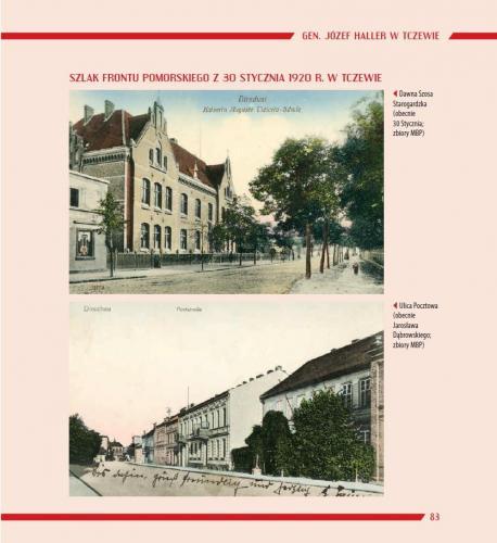 Strona zalbumu Tczew 1920