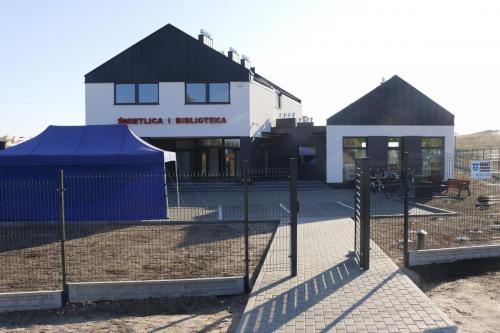 Otwarcie biblioteki naosiedlu Wincentego Witosa wTczewie