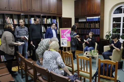 Spotkanie autorskie zMagdaleną Grzebałkowską