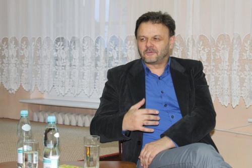 Spotkanie z Adamem Hlebowiczem