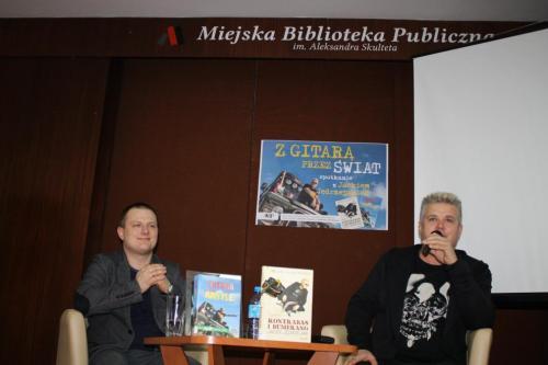 Spotkanie z Jackiem Jędrzejakiem