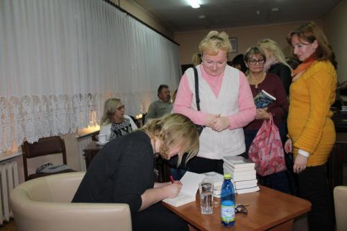 Spotkanie zpisarką Magdaleną Witkiewicz