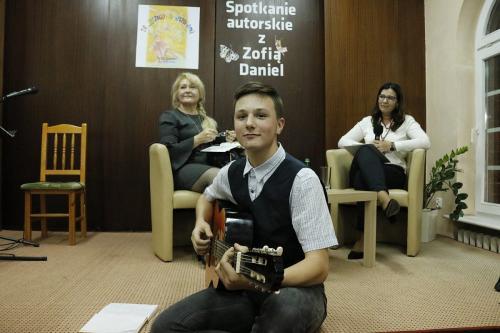 Spotkanie autorskie i promocja książki Zofii Daniel