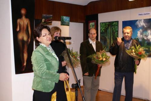 Wernisaż prac tczewskich artystów